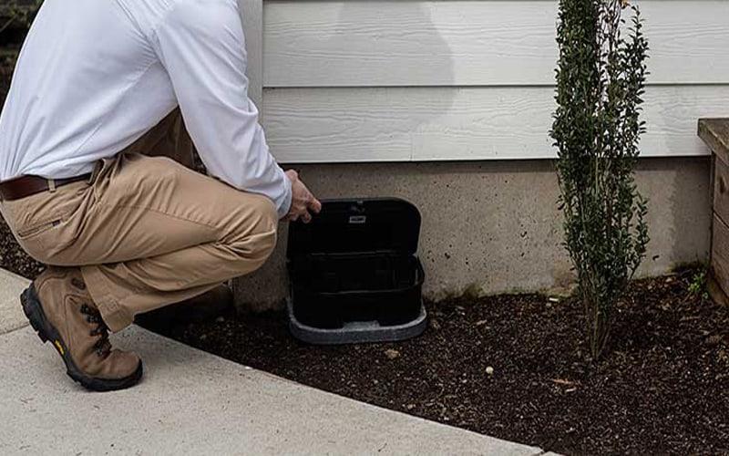 Pest Control Servers - Exterior Rodent control service, fleas, mosquitos